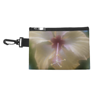 Abstract Hibiscus Flower Accessory Bag