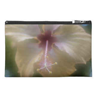 Abstract Hibiscus Flower Travel Accessory Bag