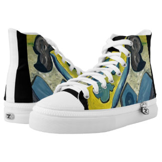 Abstract hightops High-Top sneakers