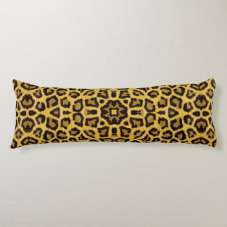 Abstract Hipster Cheetah Animal Print Body Pillow