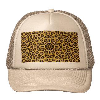 Abstract Hipster Cheetah Animal Print Trucker Hat