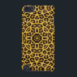 "Abstract Hipster Cheetah Animal Print iPod Touch 5G Case<br><div class=""desc"">An abstract brown orange and yellow hipster cheetah animal print. A trendy girly cheetah pattern on yellow background. A cool modern pattern design for her or anyone on any occasion. The perfect gift idea for the fashionista.</div>"