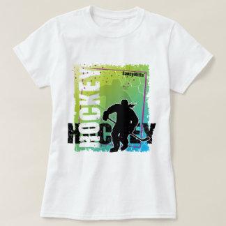 Abstract Hockey (female) Tee Shirts
