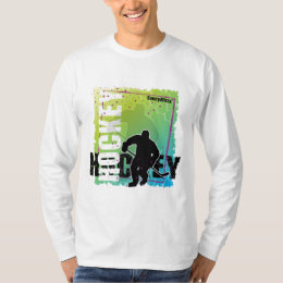 Abstract Hockey (male) T-Shirt