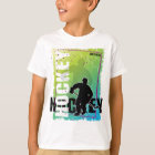 Abstract Hockey Youth Kids T-Shirt