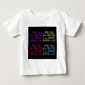 Abstract home for real estate or architecture firm baby T-Shirt