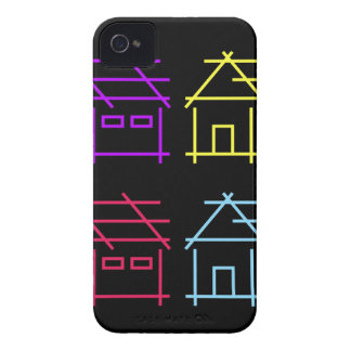 Abstract home for real estate or architecture firm iPhone 4 Case-Mate case