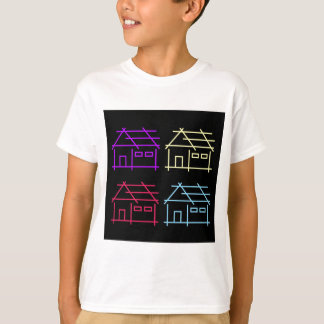 Abstract home for real estate or architecture firm T-Shirt