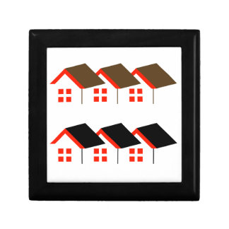Abstract home gift box