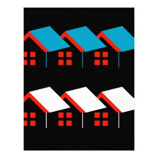 Abstract home letterhead
