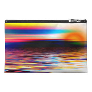 Abstract Horizon Travel Accessories Bag