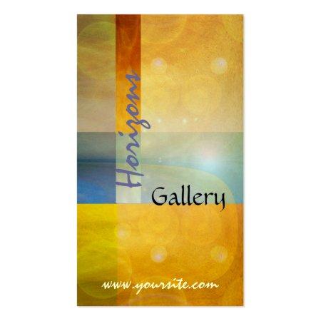 Artist Art Gallery Business Cards