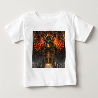Abstract Horror Approach The Gates Of Hell Baby T-Shirt