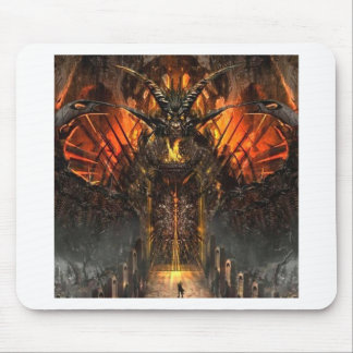Abstract Horror Approach The Gates Of Hell Mousepads