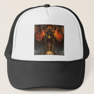 Abstract Horror Approach The Gates Of Hell Trucker Hat