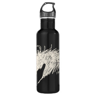 Abstract Horse Head art Water Bottle