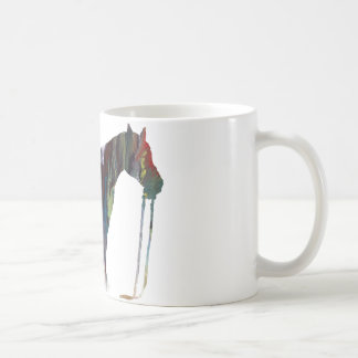 Abstract horse silhouette coffee mug