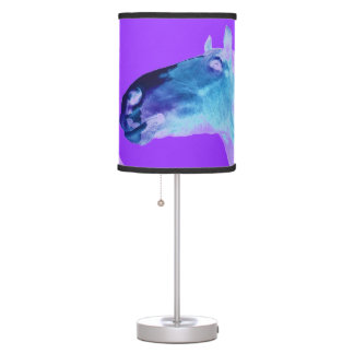 abstract horse Table Lamp
