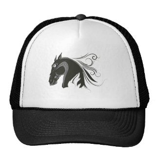 Abstract Horse Trucker Hat