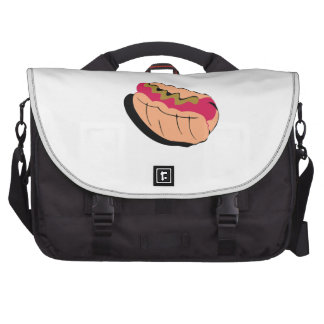 Abstract Hot Dog Bags For Laptop