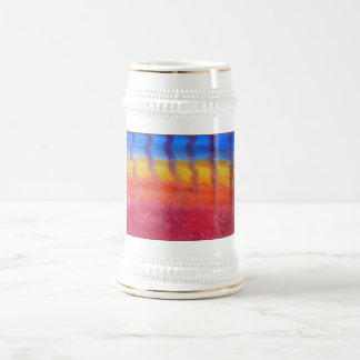 Abstract. Hot Sand in Summer. Beer Stein