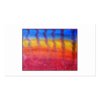 Abstract. Hot Sand in Summer. Business Card
