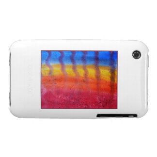 Abstract. Hot Sand in Summer. iPhone 3 Case