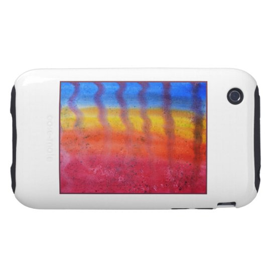 Abstract. Hot Sand in Summer. iPhone 3 Tough Cover