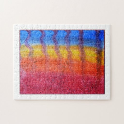 Abstract. Hot Sand in Summer. Jigsaw Puzzles