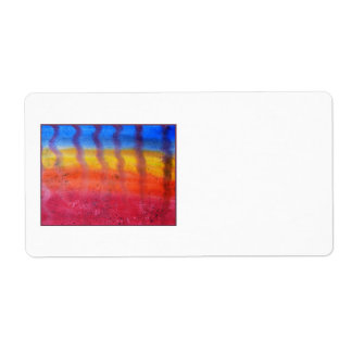 Abstract. Hot Sand in Summer. Label