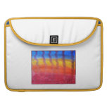 Abstract. Hot Sand in Summer. Sleeve For MacBook Pro