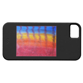 Abstract. Hot Sand in Summer. On Black. iPhone SE/5/5s Case