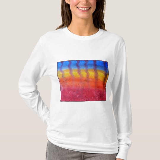 Abstract. Hot Sand in Summer. T-Shirt
