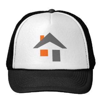 Abstract House Baseball Cap Trucker Hat