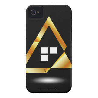 Abstract house with windows Case-Mate iPhone 4 case
