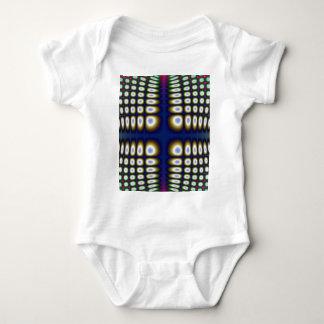 Abstract Hypnotic Design Polka Dots Fractal T Shirt