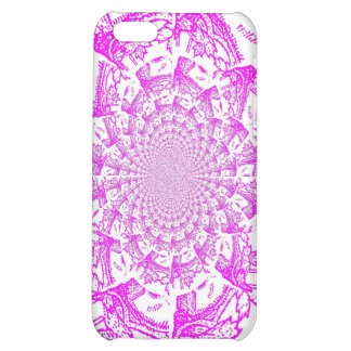 Abstract/Hypnotic Digital Art Case For iPhone 5C