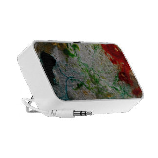 Abstract Ice & Color Portable Speaker
