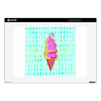 Abstract Ice Cream Laptop Decals