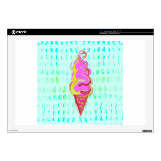 Abstract Ice Cream Skin For Laptop