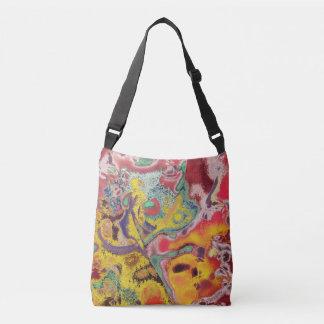 Abstract Ideas Butterfly Crossbody Bag