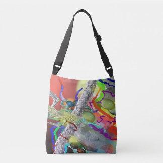 Abstract Ideas Confetti Crossbody Bag