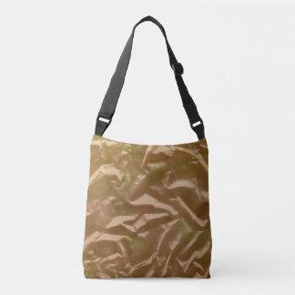 Abstract Ideas Gold Leaf Crossbody Bag