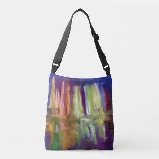Abstract Ideas Magic Fountains of Lima Crossbody Bag