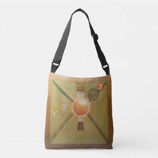 Abstract Ideas Radiation Crossbody Bag