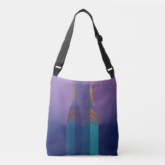 Abstract Ideas Spires Crossbody Bag