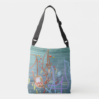 Abstract Ideas Strings n Things Crossbody Bag