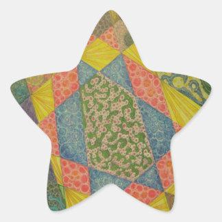 Abstract III Star Sticker