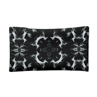 Abstract illusion -BW- Small Cosmetic  Bag