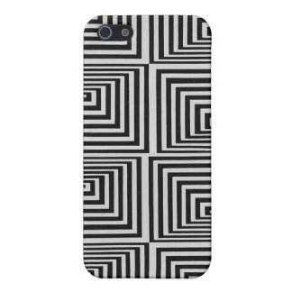 Abstract illusion geometric iphone case